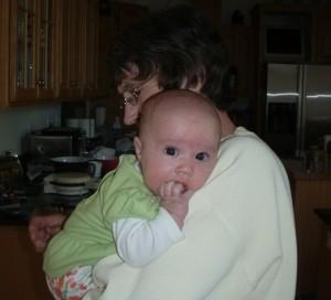 Spending Nice Time With Grandma Jo